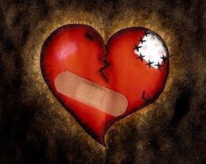 Il cuore più bello e quello rappezzato