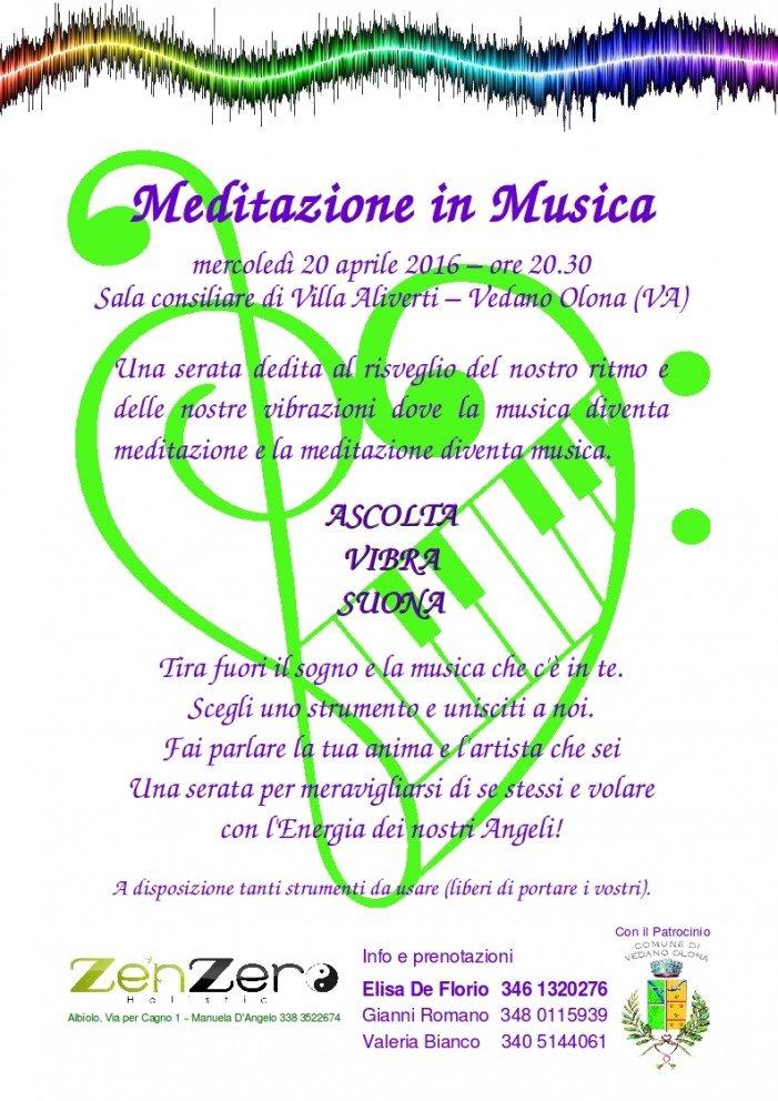 """Invito a """"Meditazione in Musica"""" 20/24 aprile"""