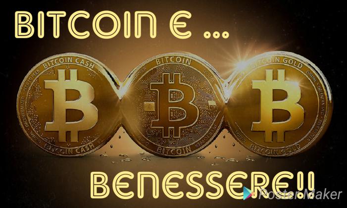 Bitcoin e … Benessere!!!
